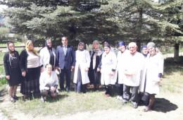 <p><strong>Рабочий визит главного врача в Чохскую УБ</strong></p>