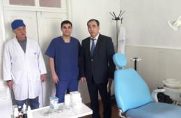 <p>Рабочий визит главного врача в УБ Согратль</p>